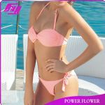 2014 new design sexy swimwear bikini for young girls